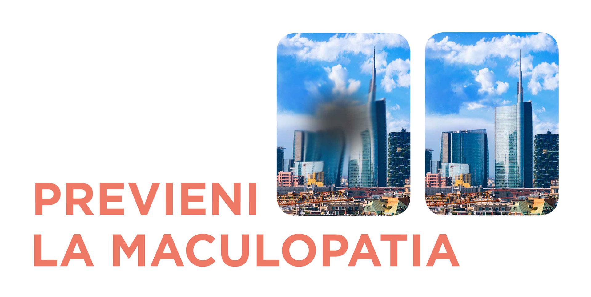 Maculopatia: Prima Campagna Nazionale di prevenzione e diagnosi